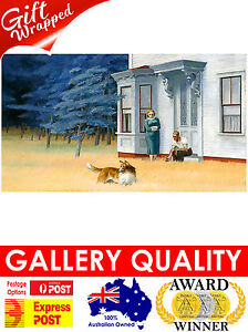 NEW Edward Hopper, Cape Cod Evening, 1939, Cropped, Giclee Art Print or Canvas