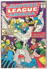 JUSTICE LEAGUE OF AMERICA #21, DC 1963, VG/VG+ CONDITION, CRISIS ON EARTH-ONE!