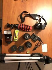 Canon Rebel T6 Digital SLR Camera Mega Bundle - Black