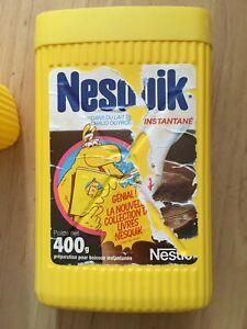1 boite Groquik Nesquik de Nestlé 400 G  étiquette déchirée