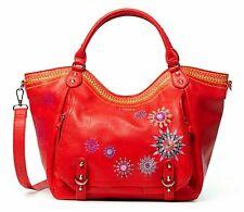 Desigual Ada Rotterdam Shoulder Bag Schultertasche Tasche Rojo Rot