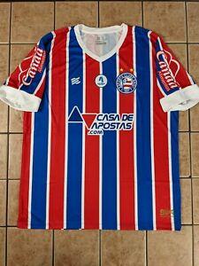 Esporte Clube Bahia 2021 Away Blank Replica Jersey Men's Esquadrão NWT
