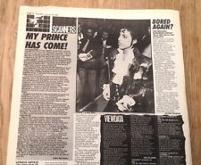 PRINCE Purple Rain movie article 1984  UK ARTICLE / clipping