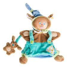 Doudou Peluche Marionnette Chien Hund Dog Déguisé En Marin Mario Bouille bébé 9