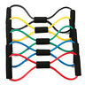 Yoga Pilates Pull Rope Gym Fitness Resistance Elastic Rubber Bands Training Cord