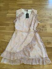 All Saints Wrap Dress Size L