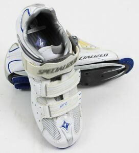 SPECIALIZED Pro Road Women's Cycling Shoes White / Blue, 36 EU / 6 US - NEW