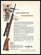 1962 Browning Medallion High Power Rifle Print Ad
