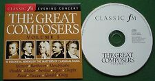 Classic FM The Great Composers Vol 1 Berlioz Puccini Ravel Mahler + CD