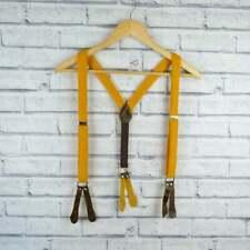 Handgemachte Knöpfe Auf Hosenträger-senf gelb Harris Tweed