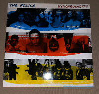 THE POLICE!! SYNCHRONICITY ORG 1983 VINYL!   STING!! BLUE RED YELLOW SKELETON!