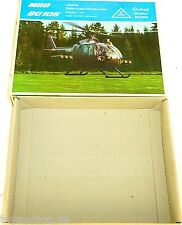 MBB BO 105 Hélicoptère Roskopf 34 SEULEMENT LE VIDE CARTON BOÎTE VIDE #HQ4 µ å