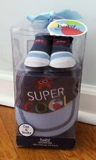 BABY BOY 2P CAP AND SOCKS SUPER COOL BABY ESSENTIALS BEACH BALL RED CRAB 0-6 M