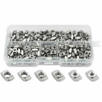 1X(T Nuts,T Slot Nut Hammer Head Fastener Nut Assortment Kit for Aluminum P M3R9