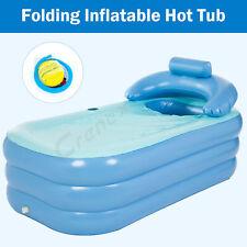 More details for inflatable adult bath tub  portable foldable bathtub blow up travel bath pool
