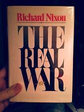 THE REAL WAR Richard Nixon Inscribed to Art Linkletter. Drugs.Association Copy.