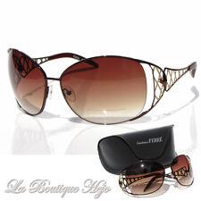 GIANFRANCO FERRE Designer Sonnenbrille PS1090 C3 Braun, Sunglasses NEU mit Etui
