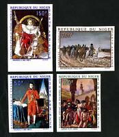 Niger Stamps # C100-3 VF Imperf OG NH