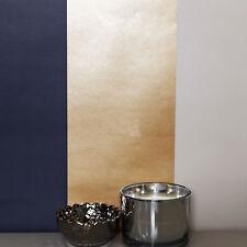 Shiny Metallic Gold Navy Cream Stripe Wallpaper Horizontal Vertical Direct
