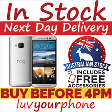 HTC One M9 M9U 32GB 4G Unlocked Silver Good Condition Satisfaction Guaranteed