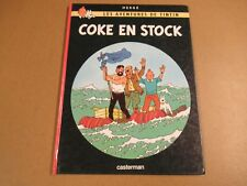 BD / TINTIN - COKE EN STOCK