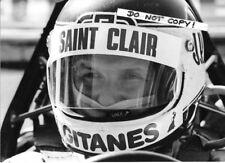 7x5 photographie, Jean Pierre Jarier, Lotus 79 Portrait 1978