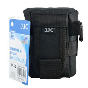 JJC DLP1 XS weather-resistant nylon Deluxe Pouch Case for DSLR Lens below 125mm