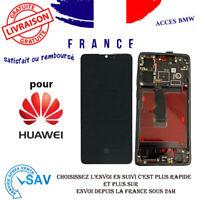 Ecran LCD complet OLED Noir Pour Huawei P30 (avec châssis)