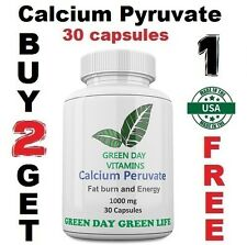 Calcium Pyruvate 1000mg Max. Strength Herb Fast Weight Loss Fat Burner