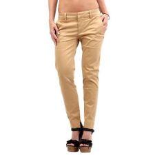 Pantaloni da donna beige china