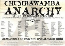 "NEWSPAPER CLIPPING/ADVERT 23/4/94PGN19 7X11"" CHUMBAWAMBA : ANARCHY"