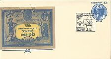 1983 Scout Family Fair Special Postmark Melbourne 16 Apr Pictor Marks No Pm 1033