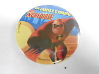 VINTAGE PROMO PINBACK BUTTON #83-061 - MOVIE -THE INCREDIBLES - MR INCREDIBLE #2