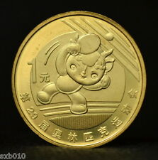 China 1 Yuan 2008 Summer Olympics - Table Tennis. commemorative coin.  UNC.