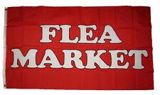 3x5 Advertising Flea Market Red Flag 3'x5' House Banner Brass Grommets