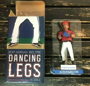 Texas Rangers Adrian Beltre Dancing Legs Bobble Head Collectible Baseball 2017