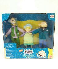 Rugrats Pickles Grandparents Doll Figure Set Mattel #69339