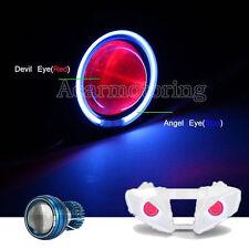 Headlight Blue Halo Projector Red Demon Eye For Honda CBR 600 929 954 1000 RR