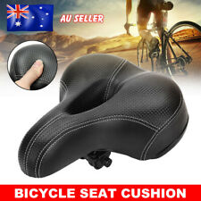 Bike Seat Bicycle Saddle Cover Road MTB Mountain Wide Soft Padded Gel Cushion AU