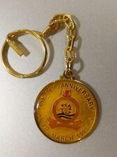 1993 Singapore Institute of Naval Engineering 21st anniversary keychain , Navy