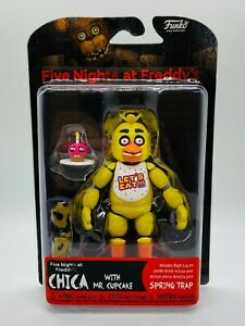 CHICA FIVE NIGHT'S AT FREDDYS FNAF FUNKO ARTICULATED AUTHENTIC ACTION FIGURE