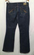"""Grane Jeans Women's (juniors) Bootcut Blue  SZ 11 Waist 32"""" Inseam 31"""""""