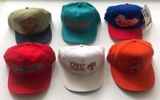 Vintage 90sSnapback Lot 6 Hats sports specialties yupoong Reebok new era fitted