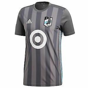 Adidas MLS Minnesota United FC Grey Jersey Grey/White/Blue CW3536