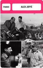 FICHE CINEMA :  ALEX JOFFE -  France (Biographie/Filmographie)