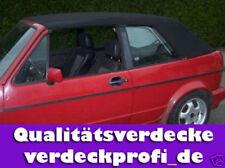 VW Golf 1 Cabrio Verdeck PVC schwarz incl. Anleitung (Cabrio Bj. 79-93)      A