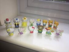 JOBLOT BUNDLE 14 x OFFICIAL SANRIO HELLO KITTY FIGURES FOR CAKE TOPPERS OR PLAY