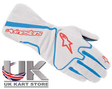 Guantes de karting y racing color principal blanco