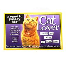 Magnetic Poetry Kit - Cat Lover