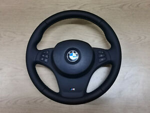 bmw x5 x3 e53 e83 steering whell reconditioned complete real pictures
